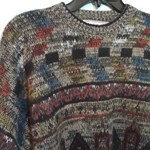 Vtg streetwear crew neck sweater,XL